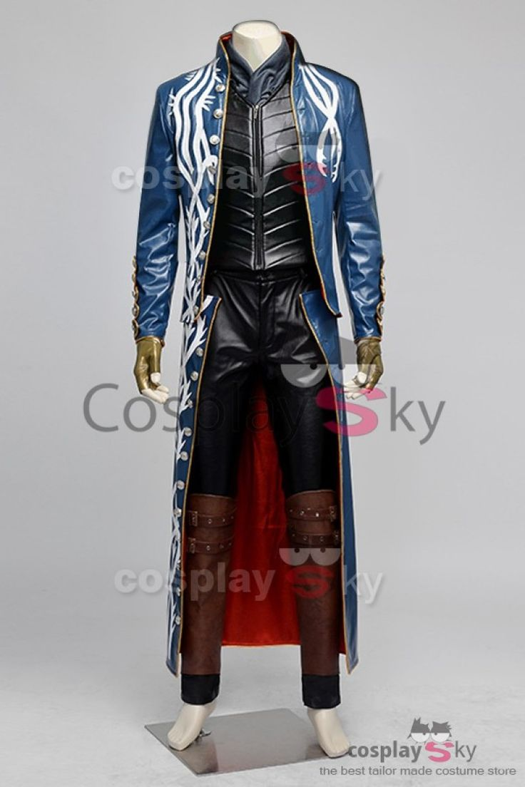 Devil May Cry 3 Vergil Cosplay Costume-1