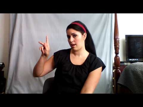 """Learn ASL in 31 Days: Day 1""  I'm in.  Wish all I know would join with this."