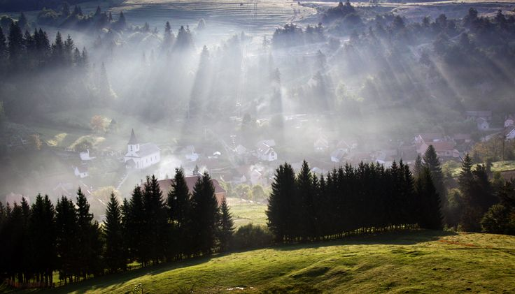 Shapes of light by Catalin Dragu - Summer in Romania Photo Contest ( Brasov city )