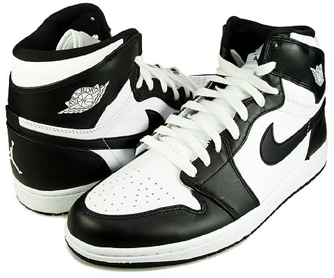 air jordan 1 retro 2008 black/white