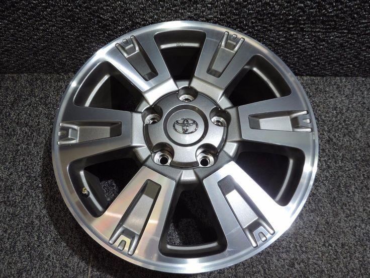 "Nice Great 2014-2018 Toyota Tundra Platinum 1794 20"" Factory OEM Alloy Wheel Rim  # 75159 2017/2018"