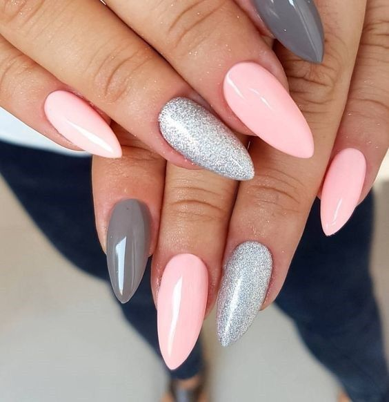 60+ Pic Pink Gel Nails Ideen 2018 – – #Genel – 100 winter outfits
