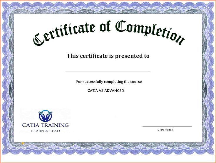 12 Best Training Participation Certificate Images On Pinterest