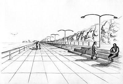 dibujos de ciudades con perspectiva conica frontal - Buscar con Google
