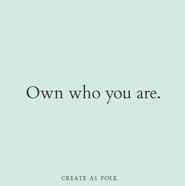 So thankful that I know who I am and no one can change that.