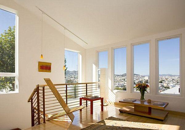 An earthy modern handrail - Decoist