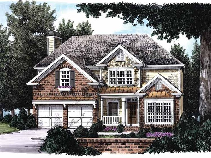 Eplans Cottage House Plan Hearth Warmed Family Room
