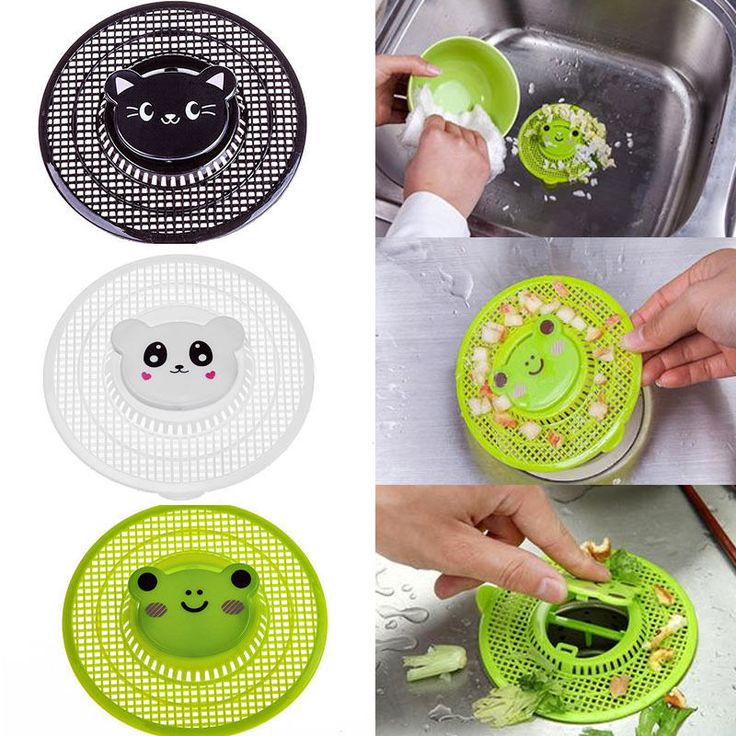 New Cute Animal Shower Basin Bathtub Hair Trap Strainer Kitchen Sink Mesh Filter Useful Home Tools #jewelry, #women, #men, #hats, #watches, #belts, #fashion