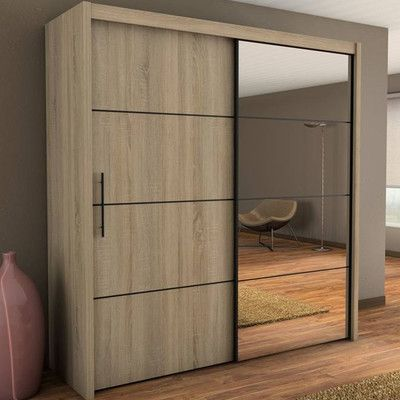 Home Etc Virgo 2 Door Wardrobe