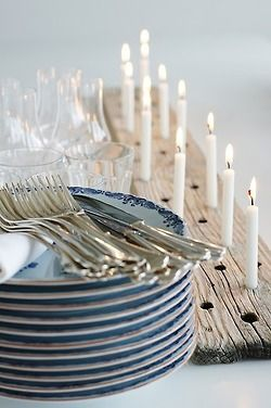 But with thicker candles.