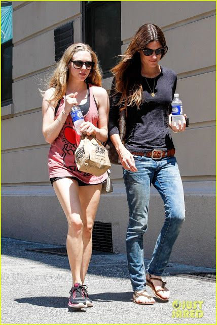 Celeb Diary: Amanda Seyfried & Jennifer Carpenter in New York