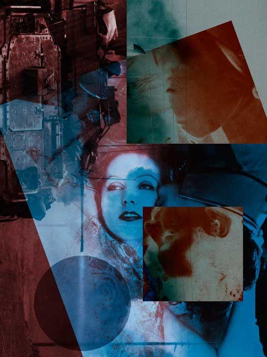 max esteban - heads will roll series, collage