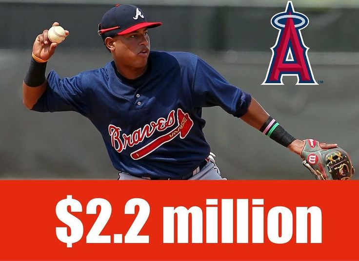 The Angels have signed former Braves prospect Kevin Maitan to a $2.2 million contract. #mlb #giants #pirates #cubs #nationals #mets #braves #baseball #beisbol #yankees #royals #tigers #orioles #bluejays #redsox #dodgers #rangers #astros #athletics #worldseries #reds #whitesox #twins #mariners #angels #marlins #cardinals #rangers #phillies #brewers #indians