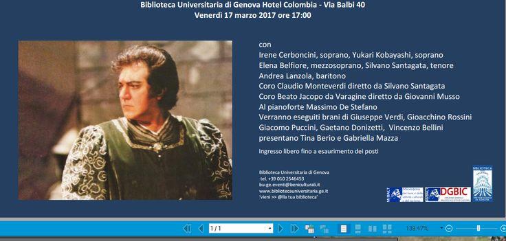 Concerto in ricordo di  OTTAVIO GARAVENTA