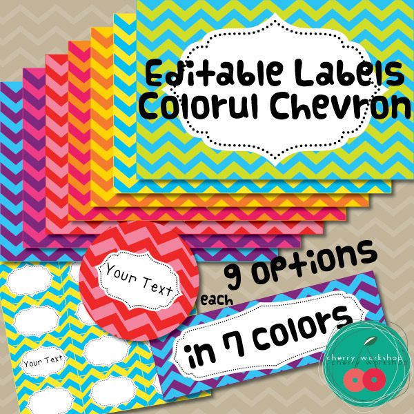 Editable Classroom Decor ~ The best chevron labels ideas on pinterest free