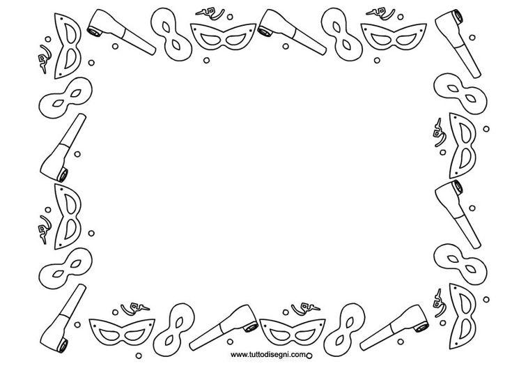cornicetta-carnevale-da-colorare