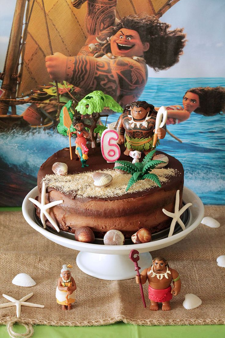 The one with all the tastes | Moana party ideas