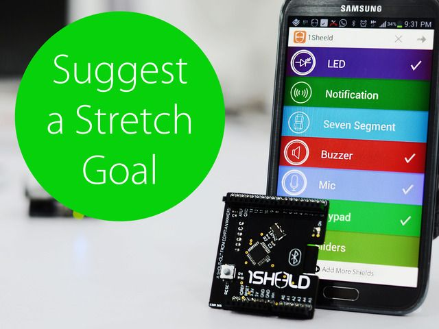 1Sheeld: Replace your Arduino shields with your smart phone! by Integreight, Inc. — Kickstarter