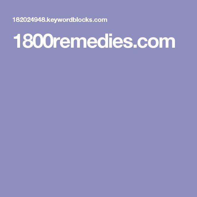 1800remedies.com
