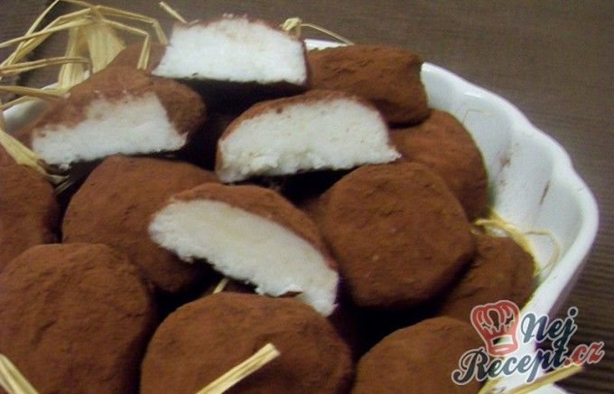 Marcipánové bonbóny z brambor