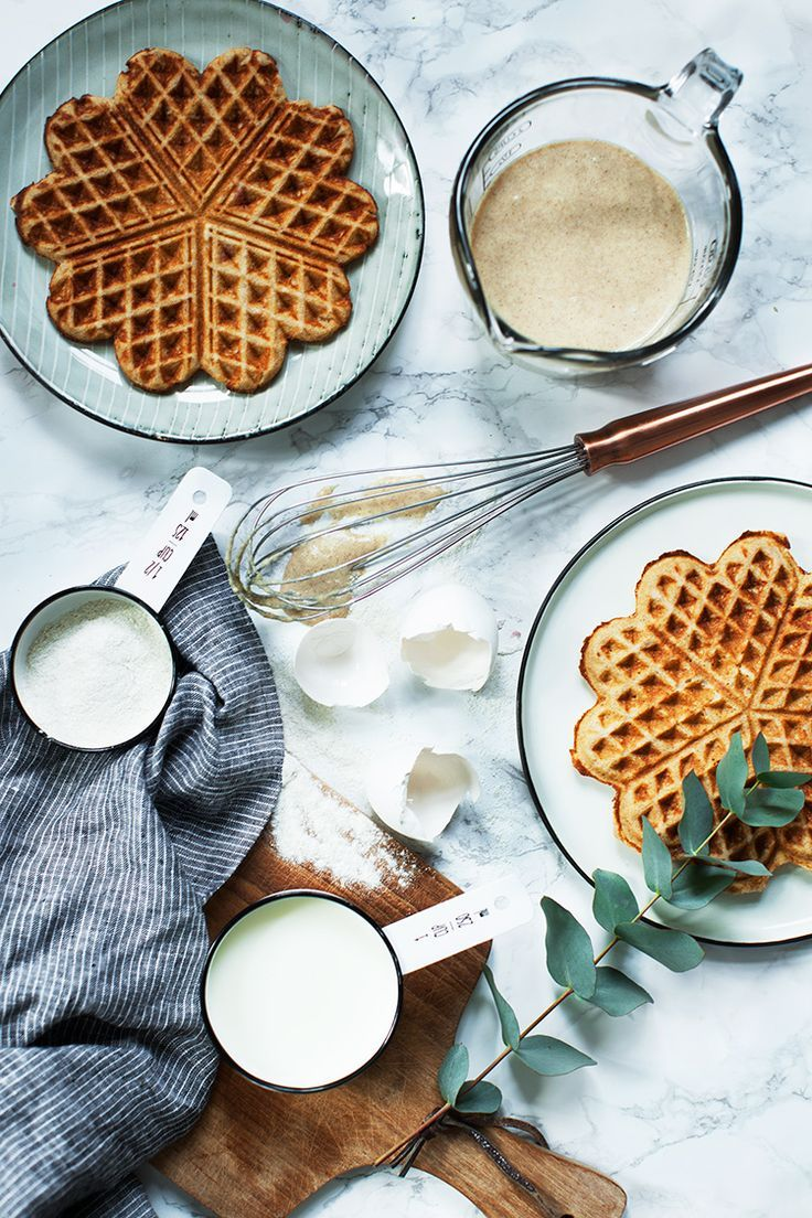 Buckwheat Waffles Recipe #glutenfree #healthy #sugarfree