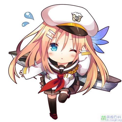 #Warship Girls# carrier USS Saratoga (CV-3) in cute version