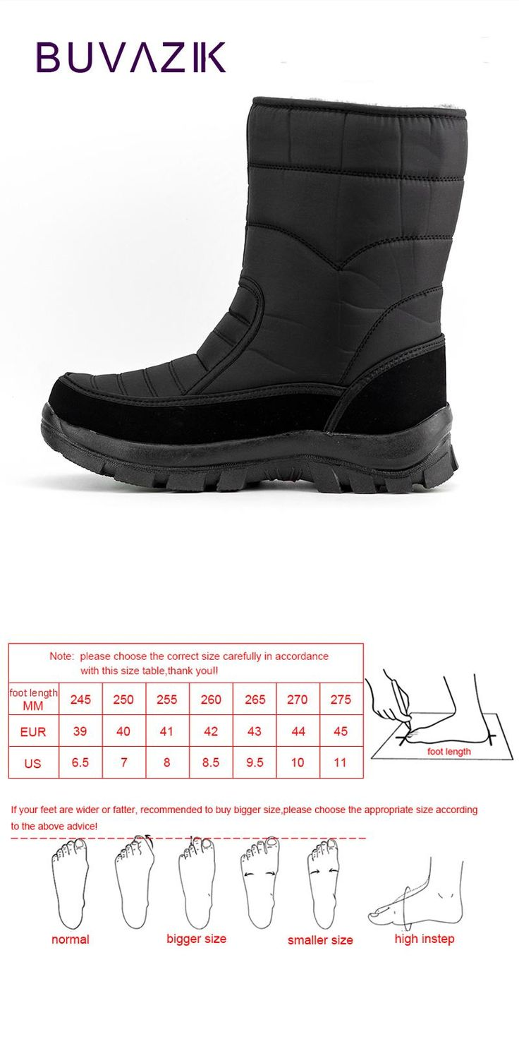 [Visit to Buy] 2017 men waterproof hunting boots thickening thermal snow boots outdoor warm fur shoes military desert boots male #Advertisement