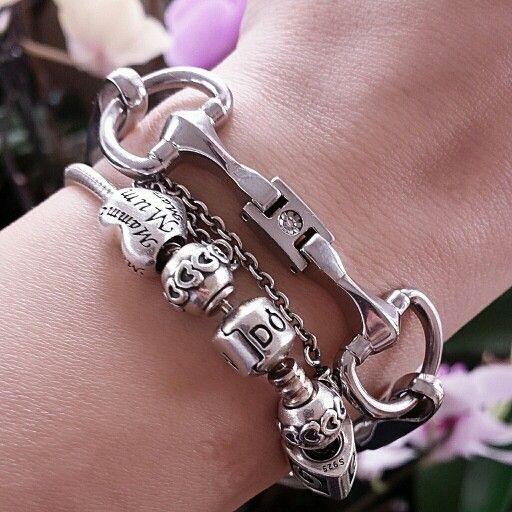 #PANDORA and #morelatto bracelets