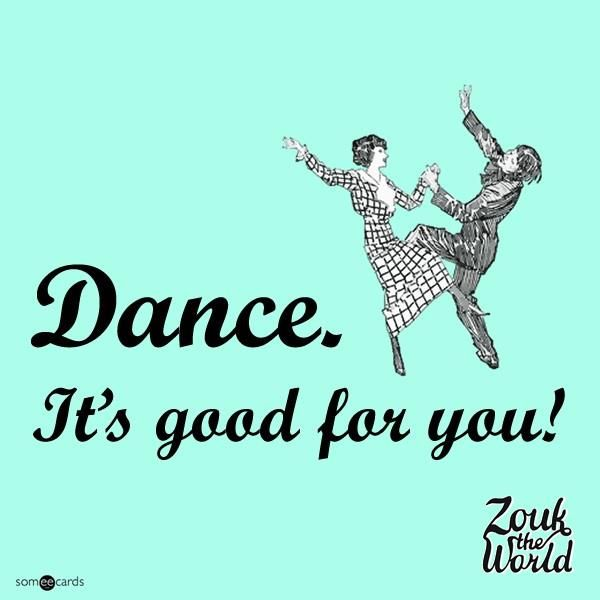 Dance: It's good for you! - 15 benefits of dancing — Zouk The World