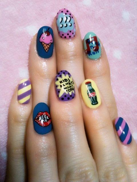 Seto Ayumi's Nails
