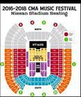 #lastminute  2 floor tickets CMA music festival 06/08/17 to 06/11/17 section K #deals_us