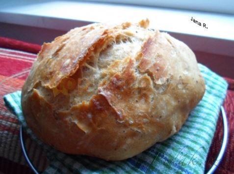 Obrázek z Recept - Levný chléb od Ládi Hrušky - za 12 kaček super chleba