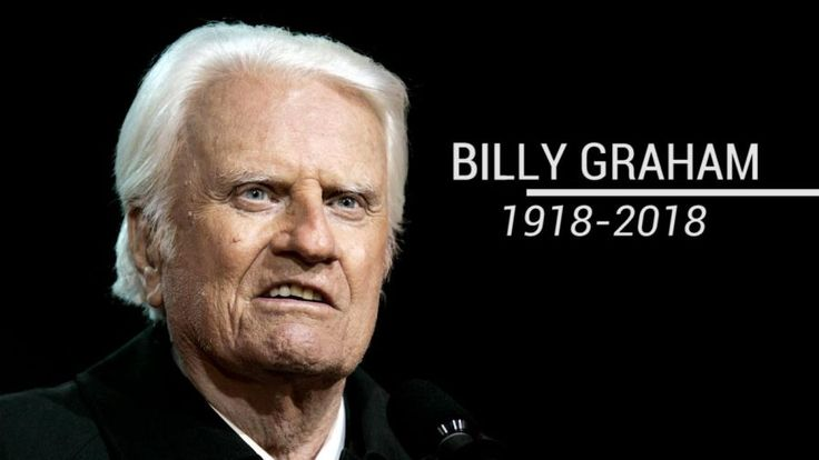 He's known as 'Amercia's pastor,' Rev. Billy Graham passed away at age 99.  He's preached to more live audiences than anyone in history and rose to prominence as a spiritual adviser for almost every U.S. president.  Here's a look back at Graham's life and lasting legacy.