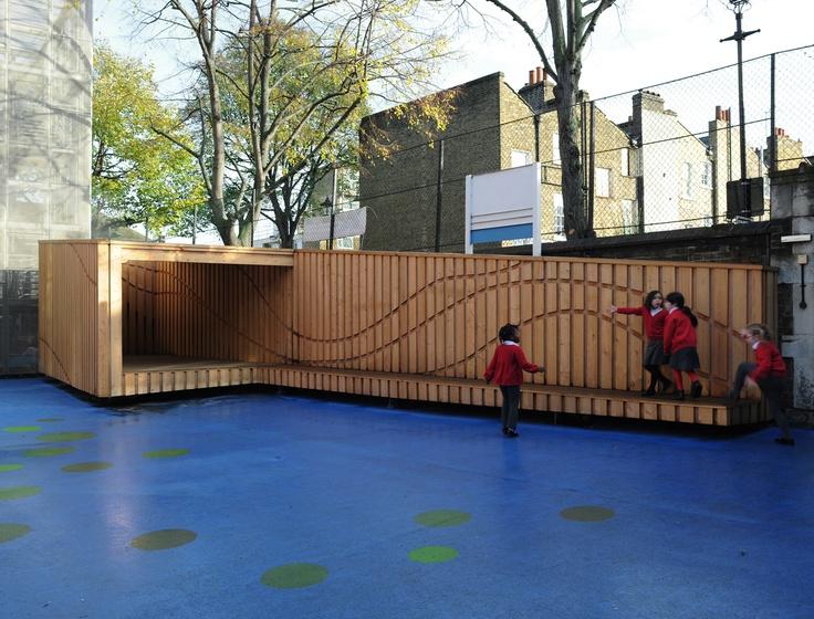 Escuela Primaria Charlotte Sharman / Charlotte Sharman Primary School - Archkids. Arquitectura para niños. Architecture for kids. Architecture for children.