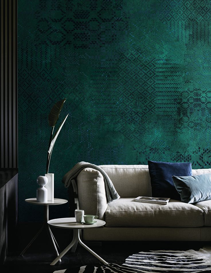 Best 25 green wallpaper ideas on pinterest leaves for Designer mural wallpaper