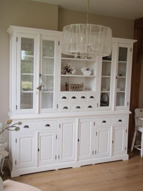 17 beste idee n over servieskast decoratie op pinterest eetkamer hok servieskast opknappen en - Muur hutch ...