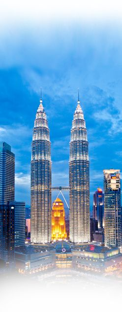 S3E10: Petronas Towers, Kuala Lumpur. Tallest buildings in the world from 1998 - 2004.