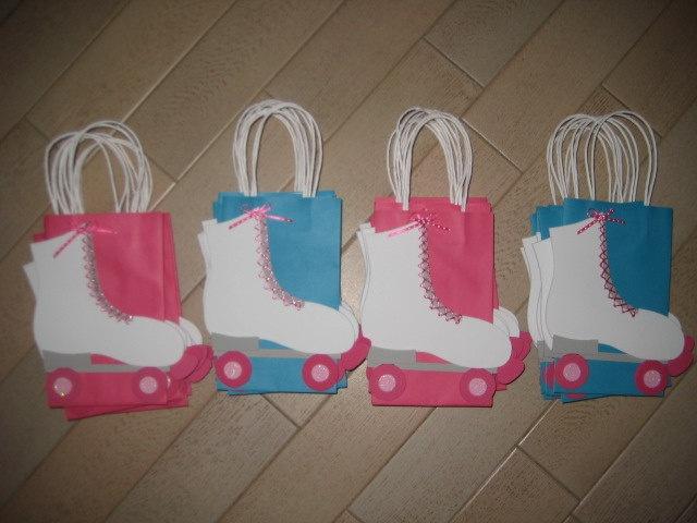 Roller Skate Favor Bags