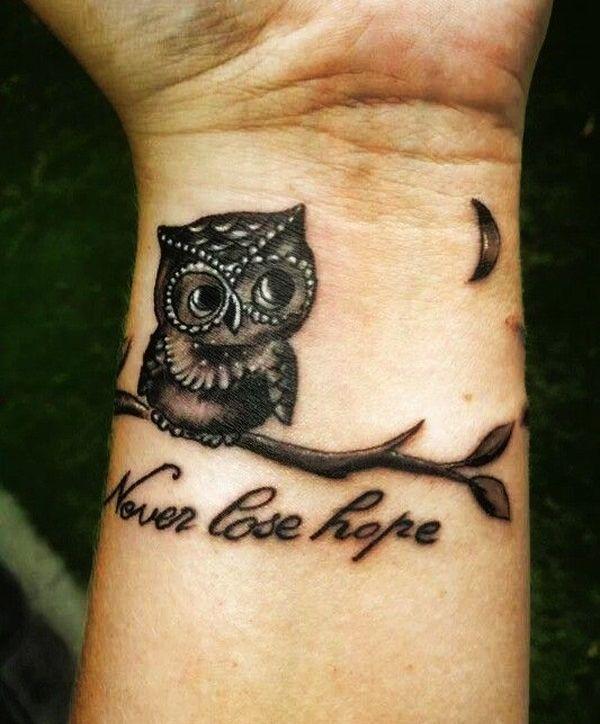 1000 ideas about owl tattoo wrist on pinterest owl tattoos tattoo