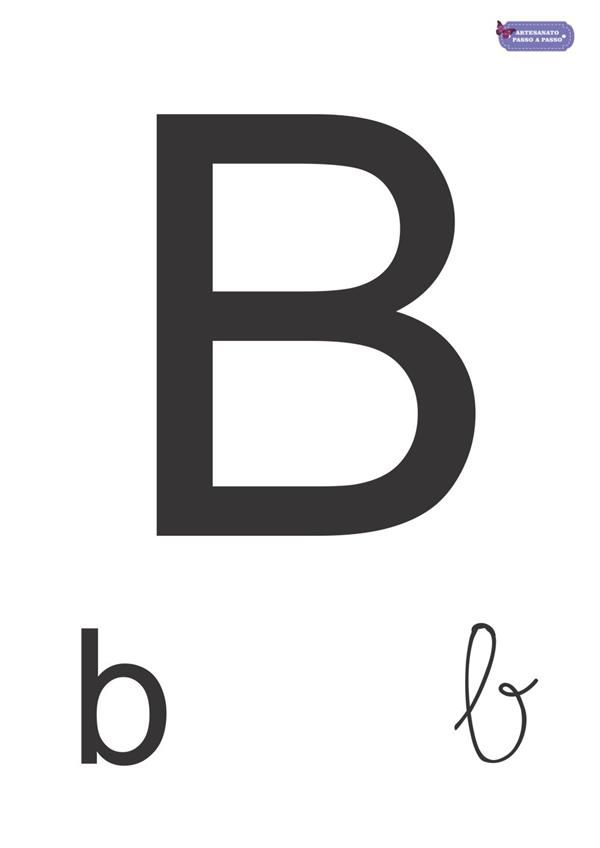 Alfabeto Completo Para Imprimir Maiuscula E Minuscula Alfabeto