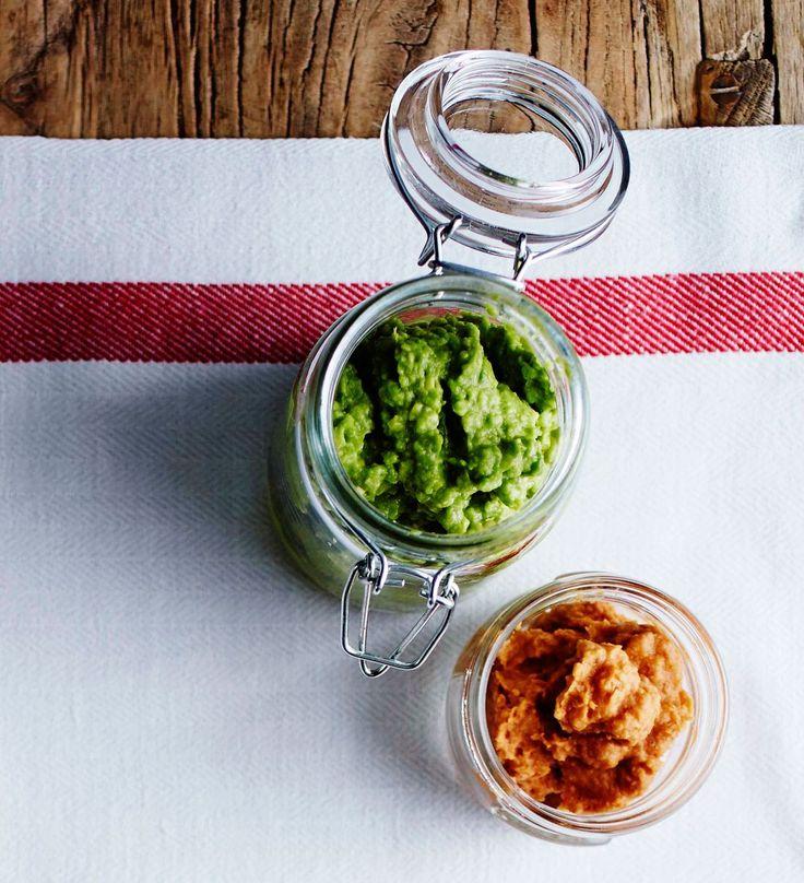 Voileivästä tulee todellinen herkku, kun sipaiset sille terveellistä itsetehtyä levitettä. Onko suosikkisi avokado-, papu-tomaatti- vai porkkana...