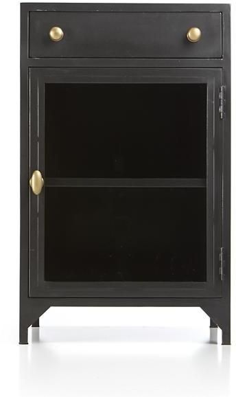 Crate & Barrel Cortina Left Door Nightstand on shopstyle.com
