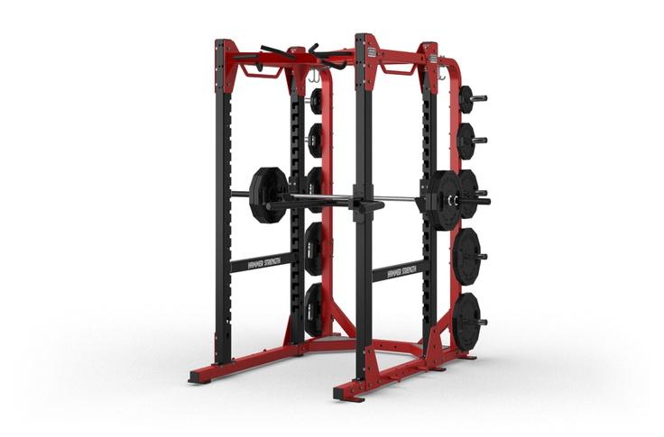 squat rack hammer strength 1