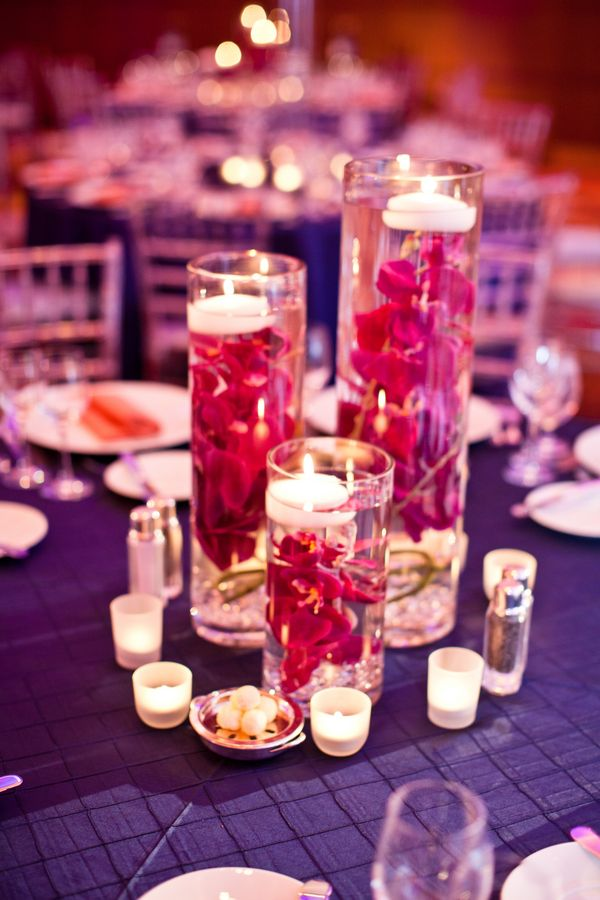 224 best wedding centerpieces images on pinterest Candlelight Centerpieces Elegant Candle Centerpieces
