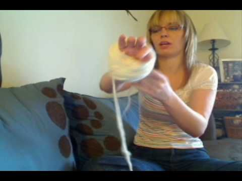 Plying Yarn on a Drop Spindle - Andean Plying Tutorial