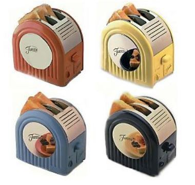 Fiestaware toasters ... WHY don't they keep making these ???