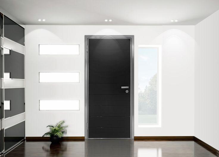 ΠΟΡΤΕΣ ΑΣΦΑΛΕΙΑΣ Golden Door :: Νέο Design :: Πόρτα ασφαλείας με επένδυση από satinato security τζάμι