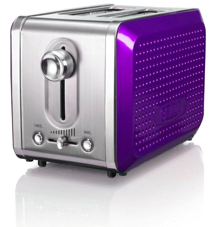 Elegant BELLA Dots Collection 2 Slice Toaster Purple $26.95 TOTAL BEST PRICE  GUARANTEE (PICK · Purple KitchenSmall AppliancesKitchen ...