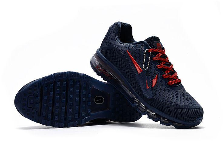 Nike Air Max 2017.5 Men Dark Blue Red
