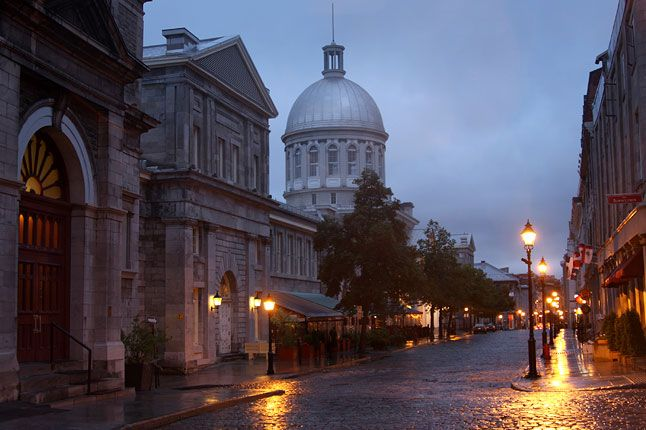 Montreal's alluring old city